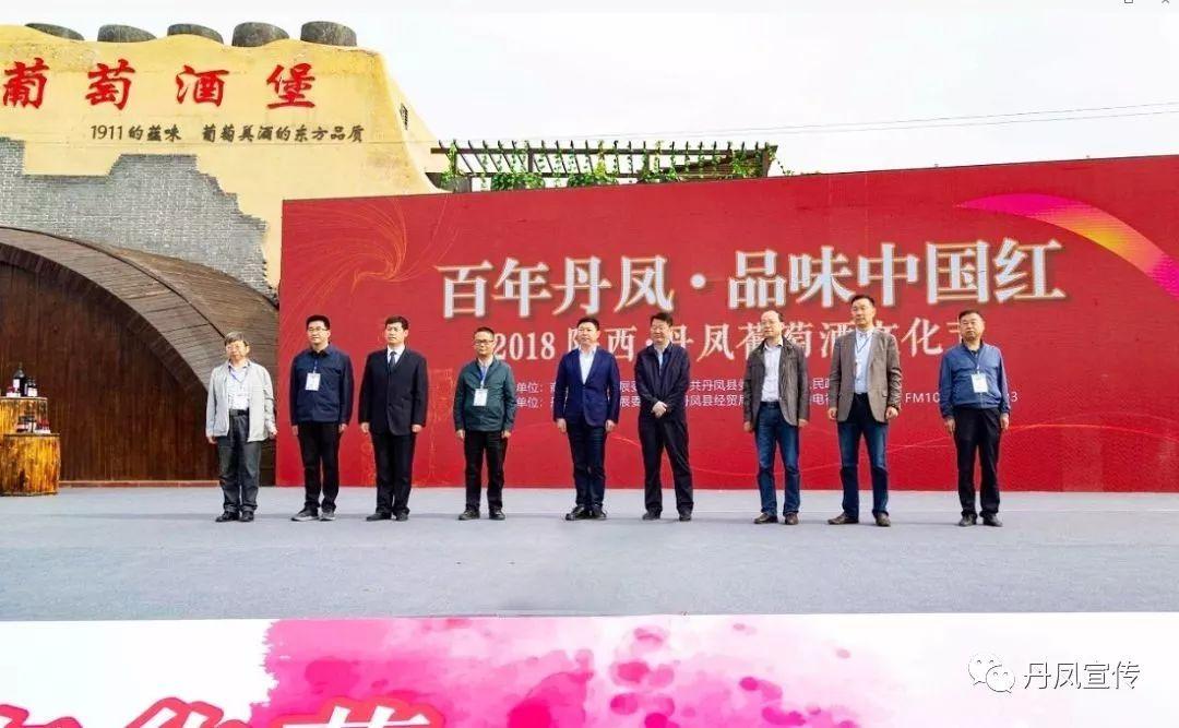 2018丹凤葡萄酒文化节隆重开幕