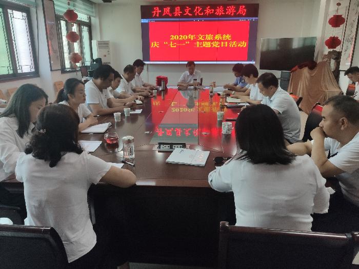 """文旅系统""""庆七一""""主题党日活动"""